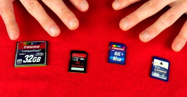 какую карту памяти выбрать для видеорегистратора