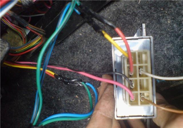 foto 7 provoda ot bloka - Установка сигнализации старлайн а91 на ваз 2110