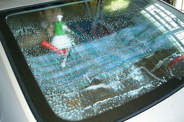 как снять тонировку со стекла самостоятельно